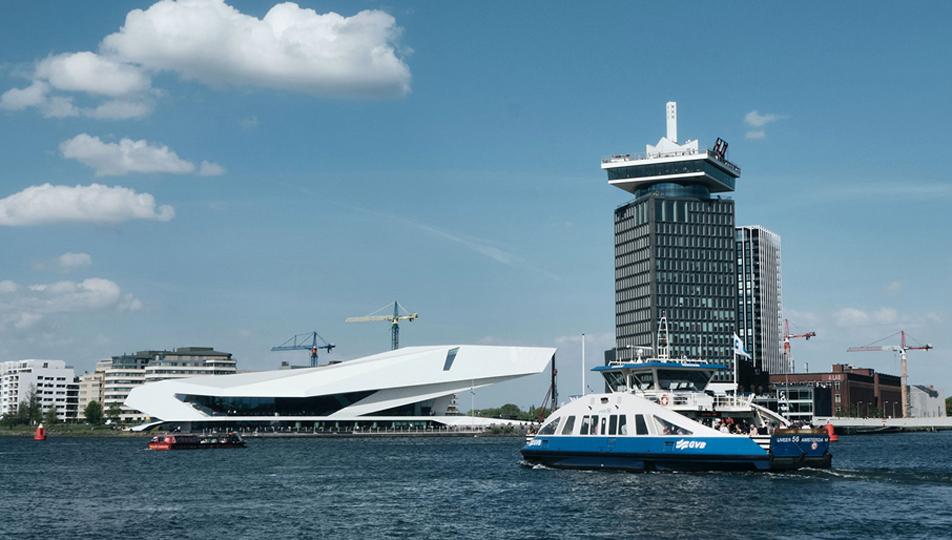 Wonen in Amsterdam Noord - Adam Toren Amsterdam - Oeverzone De Bongerd